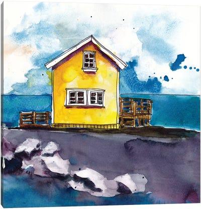 Cabin Scape I Canvas Art Print
