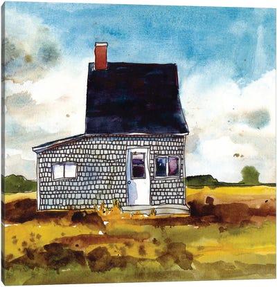 Cabin Scape II Canvas Art Print