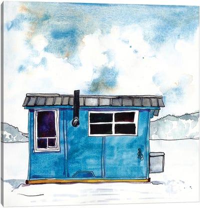 Cabin Scape III Canvas Art Print