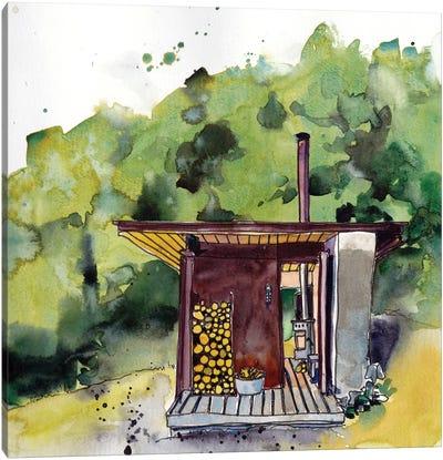 Cabin Scape V Canvas Art Print
