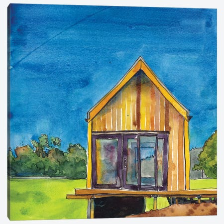 Cabin Scape VI Canvas Print #PLM9} by Paul Mccreery Art Print