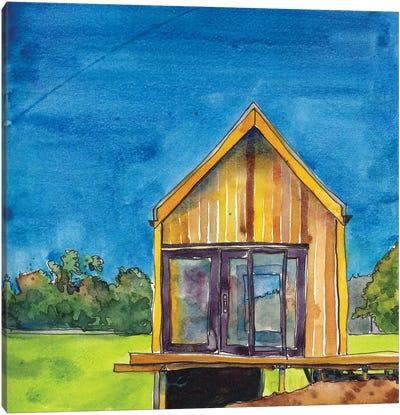Cabin Scape VI Canvas Art Print