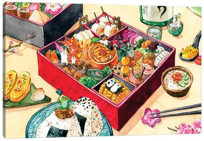 Osechi by Penelopeloveprints Canvas Art Print