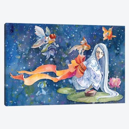 Summer Dream Canvas Print #PLP16} by Penelopeloveprints Art Print