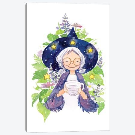 Tea Witch Canvas Print #PLP17} by Penelopeloveprints Canvas Art Print