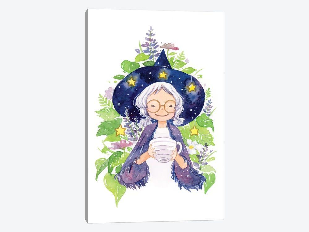 Tea Witch by Penelopeloveprints 1-piece Canvas Artwork