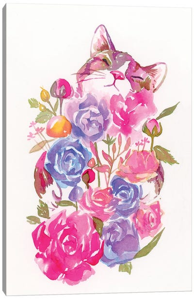 Floral Canvas Art Print