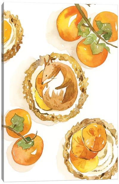 Fox Tart Canvas Art Print