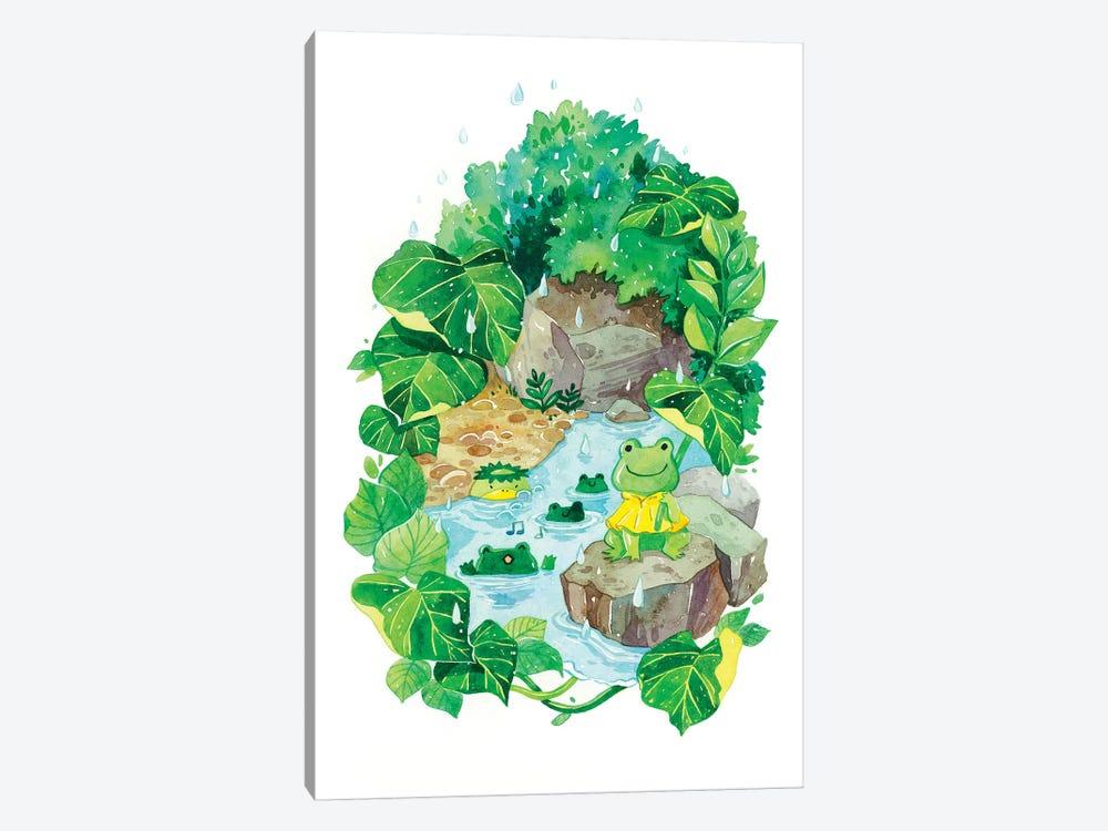Rainy Pond by Penelopeloveprints 1-piece Art Print