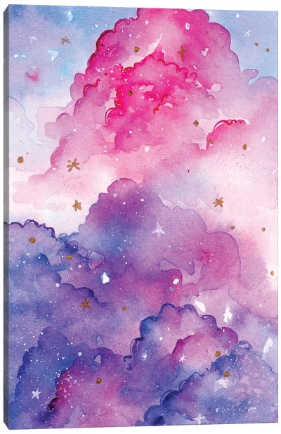 Star Clouds by Penelopeloveprints Canvas Art Print