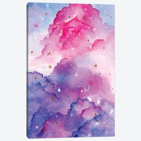 Star Clouds Canvas Print #PLP34} by Penelopeloveprints Canvas Print