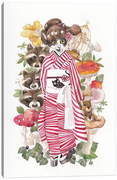 Yugata Canvas Art Print