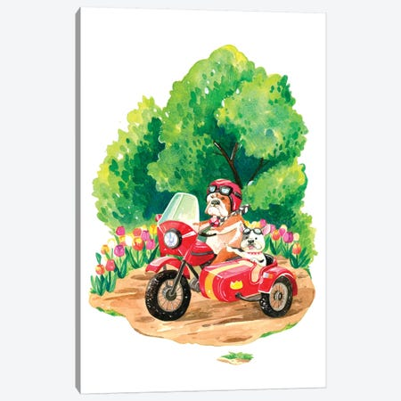 Spring Road Trip Canvas Print #PLP44} by Penelopeloveprints Canvas Art