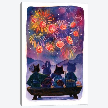 Summer Festival Canvas Print #PLP45} by Penelopeloveprints Canvas Art