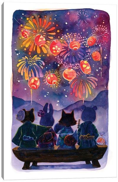 Summer Festival Canvas Art Print