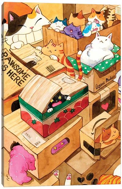 Cat Heaven Canvas Art Print
