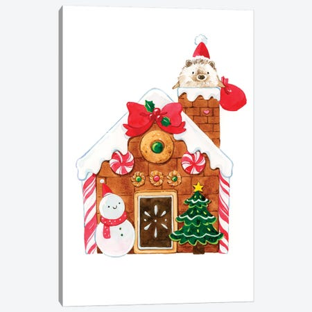 Merry Christmas Canvas Print #PLP58} by Penelopeloveprints Canvas Artwork