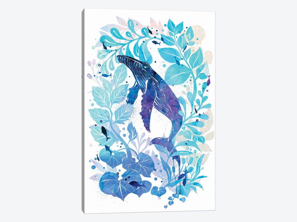 Humperback Whale Galaxy by Penelopeloveprints 1-piece Art Print