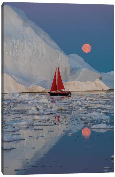 Greenland Night Canvas Art Print