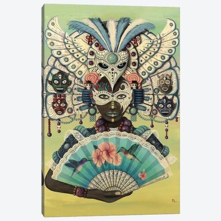 Hummingbird Queen Canvas Print #PLW13} by Paul Lewin Canvas Art Print