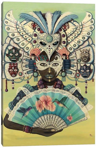 Hummingbird Queen Canvas Art Print
