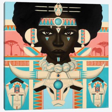 Jazarah Canvas Print #PLW14} by Paul Lewin Canvas Artwork