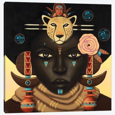 Kaceela Canvas Print #PLW15} by Paul Lewin Canvas Wall Art