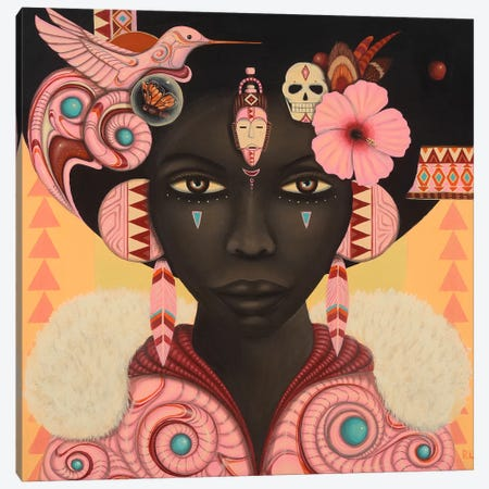 Keeya Canvas Print #PLW17} by Paul Lewin Canvas Artwork