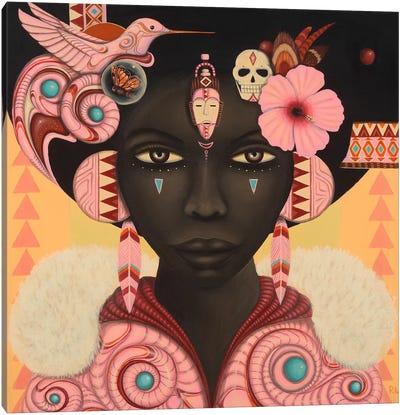 Keeya Canvas Art Print