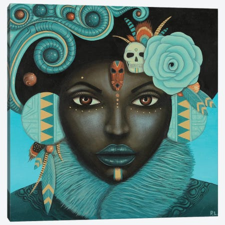 Kya Canvas Print #PLW18} by Paul Lewin Canvas Art Print