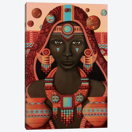 Masara Canvas Print #PLW19} by Paul Lewin Canvas Art Print