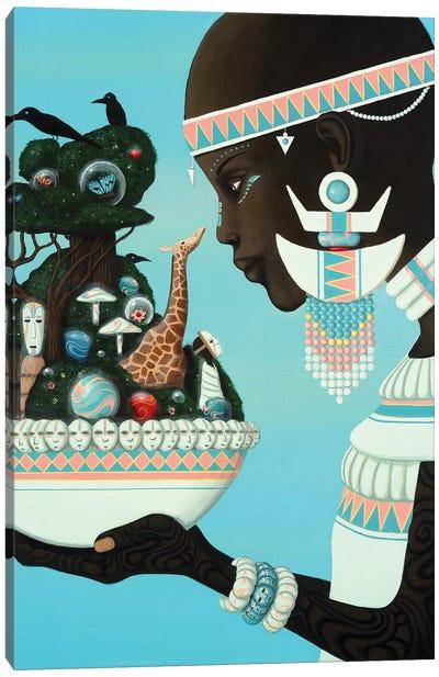 Aja Canvas Art Print