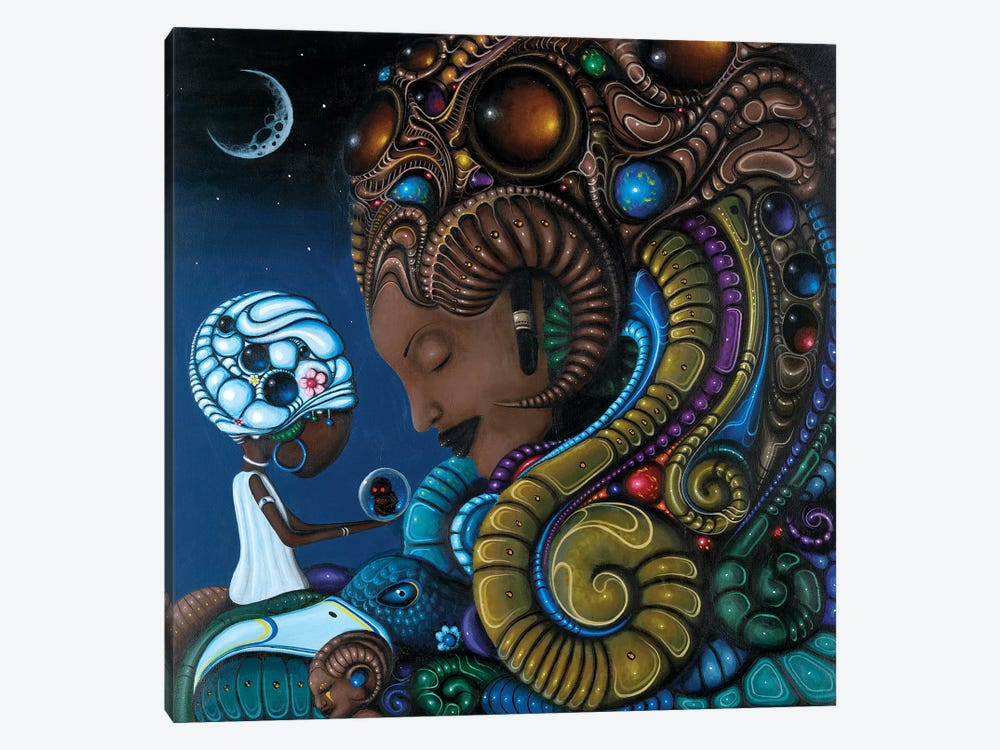 Neru by Paul Lewin 1-piece Canvas Print