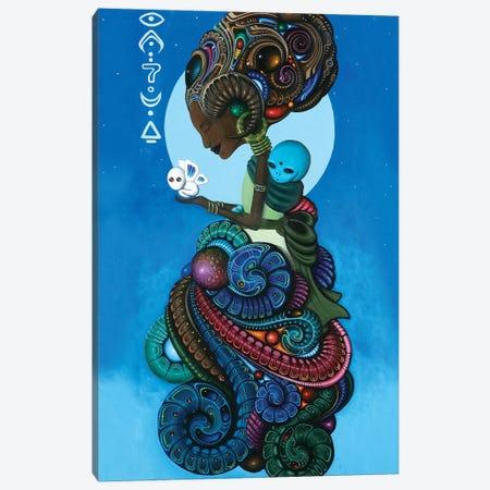 Omarosa Canvas Print #PLW27} by Paul Lewin Canvas Print