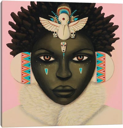 Akachi Canvas Art Print