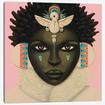 Akachi Canvas Print #PLW2} by Paul Lewin Canvas Art