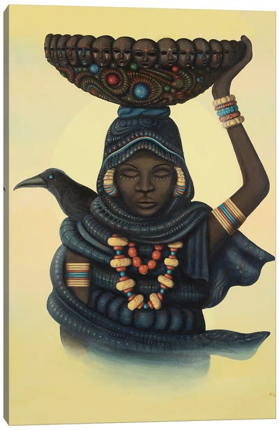 The Traveler Canvas Art Print