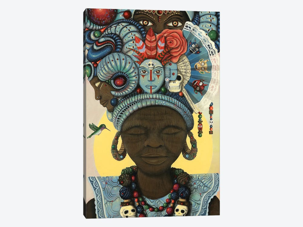 Ancestral Headwrap by Paul Lewin 1-piece Art Print