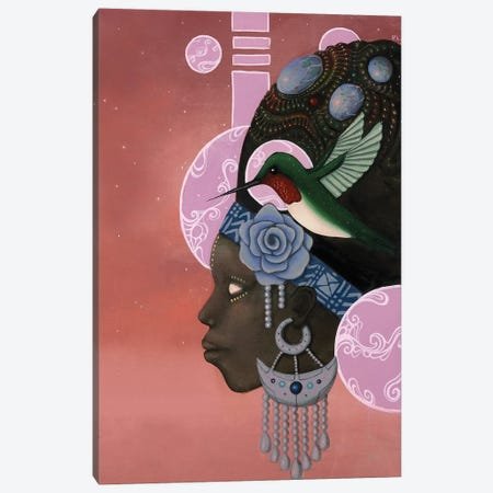 Theory of the Hummingbird Canvas Print #PLW41} by Paul Lewin Canvas Artwork