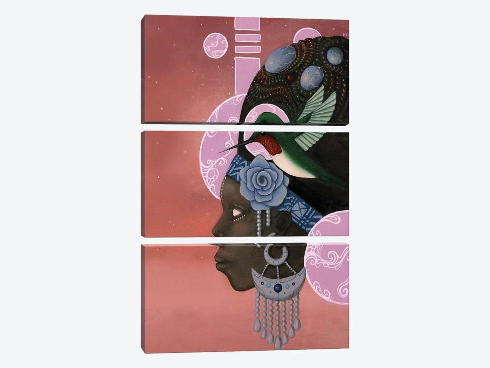 Theory of the Hummingbird by Paul Lewin 3-piece Canvas Wall Art