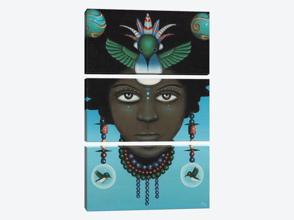 Untitled' by Paul Lewin 3-piece Canvas Art Print