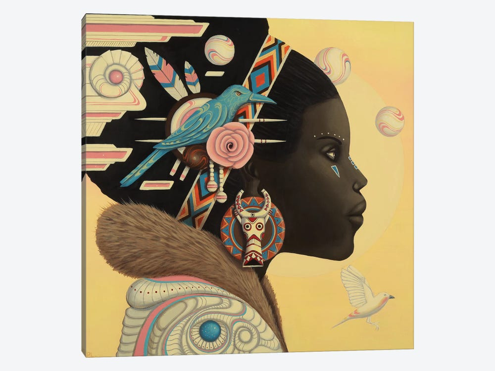 Zuri by Paul Lewin 1-piece Canvas Art