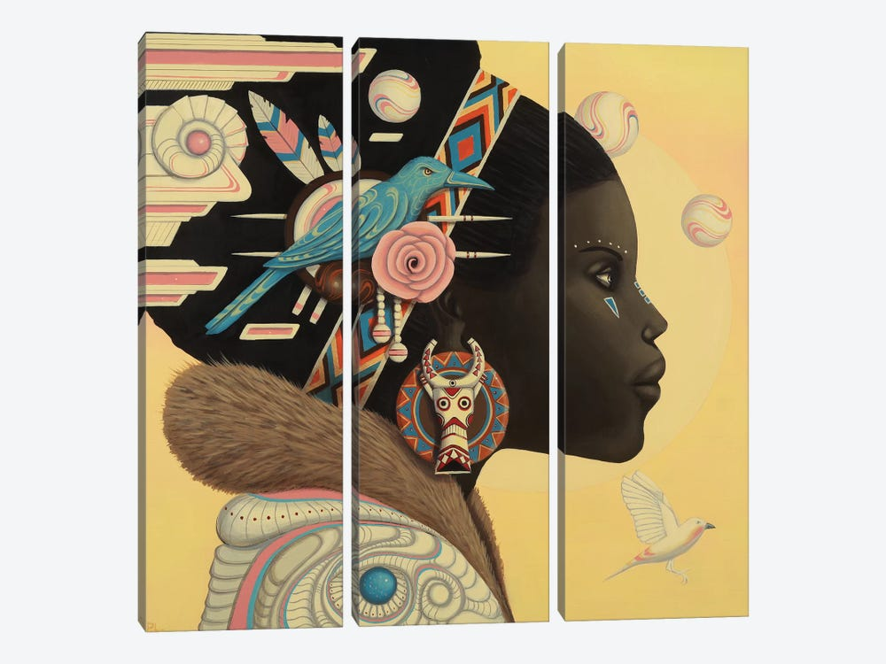 Zuri by Paul Lewin 3-piece Canvas Artwork