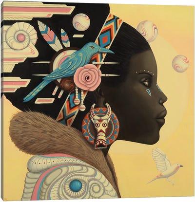 Zuri Canvas Art Print