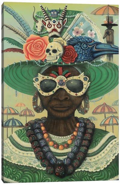 Zyla Canvas Art Print