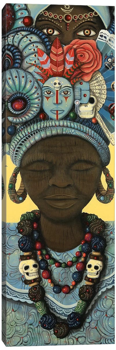 Ancestral Headwrap II Canvas Art Print