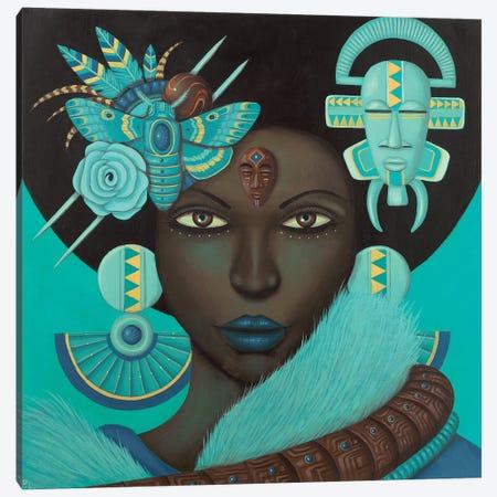 Binah Canvas Print #PLW4} by Paul Lewin Art Print