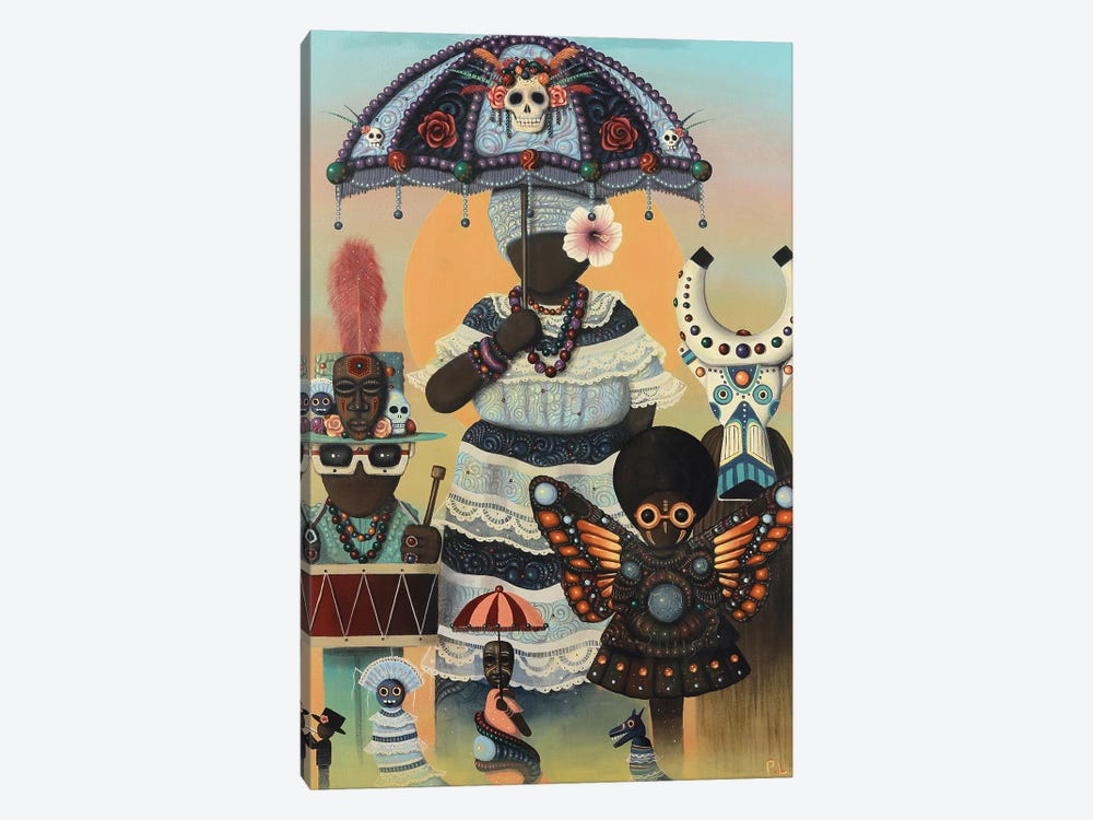 Carnival Day by Paul Lewin 1-piece Canvas Artwork