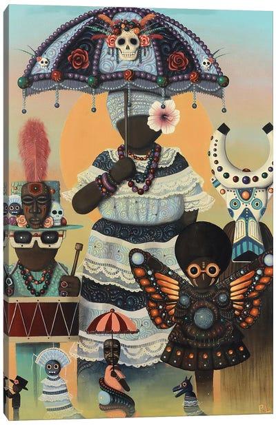 Carnival Day Canvas Art Print