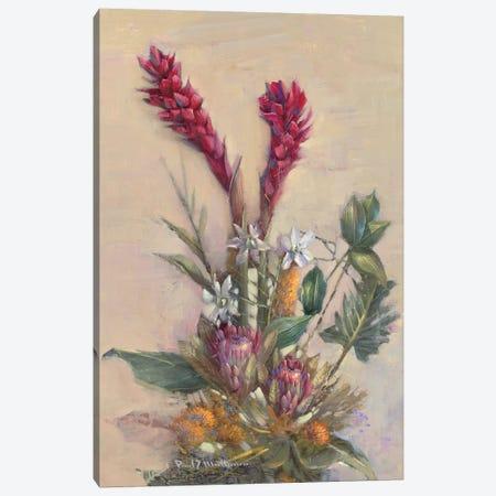 Tropical Floral Canvas Print #PMA1} by Paul Mathenia Canvas Artwork